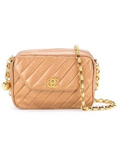 сумка в диагональную полоску  Chanel Vintage