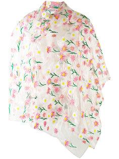 floral raincoat Ermanno Gallamini