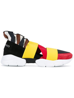 colour block strap trainers Emilio Pucci