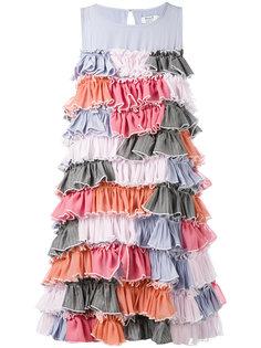 layered ruffled dress Anna K