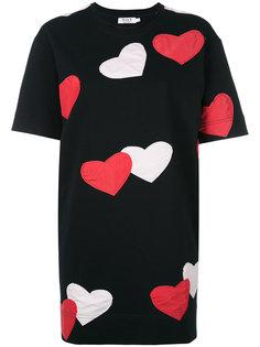 hearts T-shirt dress Anna K