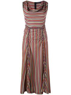 полосатое платье Rossella Jardini