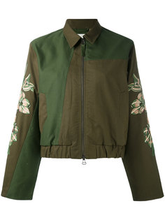 embroidered sleeve jacket Maharishi