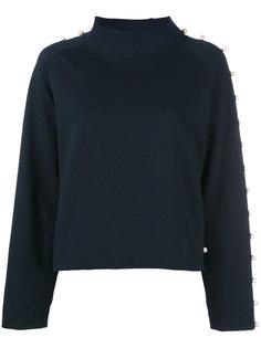 pearl embellished sweatshirt  Anna K