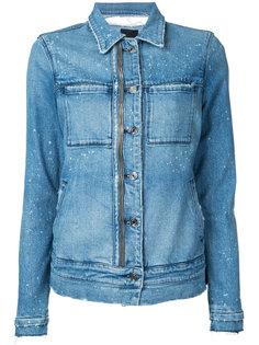 джинсовая куртка с молниями Rta