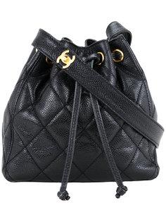 сумка на плечо со шнурком  Chanel Vintage