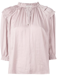 gathered blouse Ulla Johnson