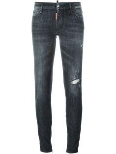 джинсы скинни средней посадки Dsquared2
