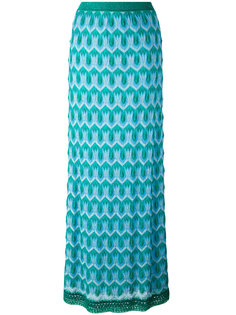 ажурная длинная юбка  Missoni