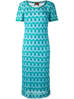 ажурное трикотажное платье Missoni