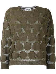 Northwest polka-dot knit sweater Essentiel Antwerp