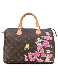 сумка-тоут с принтом птиц Speedy Louis Vuitton Vintage