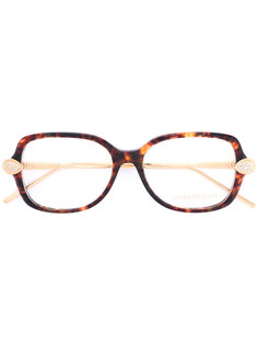 Swarovski crystal-embellished square-frame glasses Boucheron