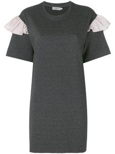 frill sleeve T-shirt dress Anna K