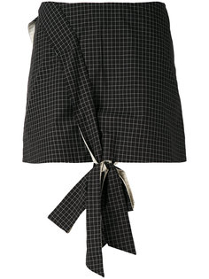 front knot mini skirt Anna K