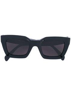 солнцезащитные очки в широкой оправе Céline Eyewear