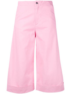 cropped flared trousers  The Seafarer