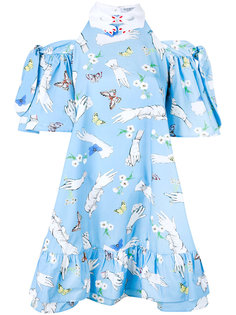 Pesce Paglia printed dress Vivetta