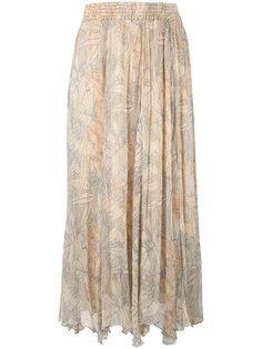 многослойная юбка с принтом Mes Demoiselles