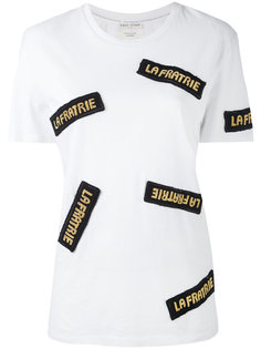 футболка с нашивками Each X Other