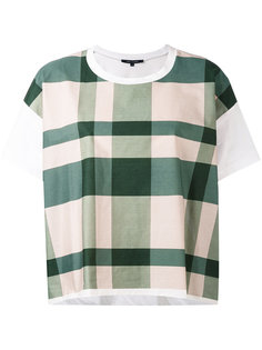 checked boxy T-shirt Sofie Dhoore