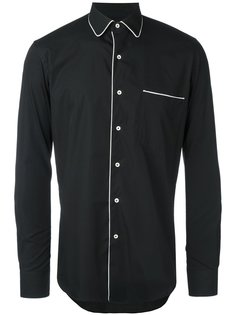 рубашка с контрастной отделкой Gabriele Pasini