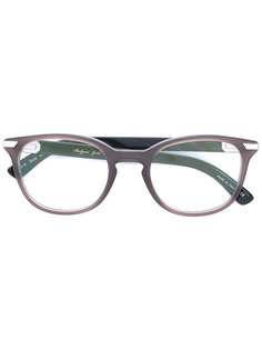 oval frame glasses Bulgari