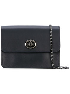 сумка-сэтчел с объемной застежкой Coach