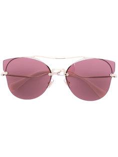 rimless ascaacat eye sunglasses Miu Miu Eyewear