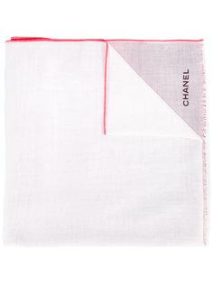 шарф с эффектом окрашивания  Chanel Vintage