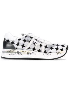 circle print sneakers Premiata White