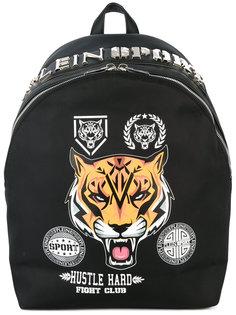 рюкзак с наклейками и принтами Plein Sport