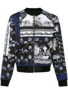 куртка-бомбер с принтом  Versus