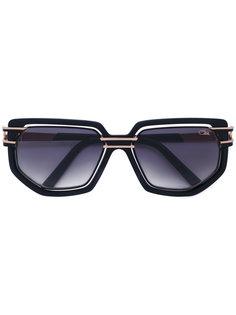 солнцезащитные очки с угловатой оправой Cazal