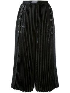 плиссированные широкие кюлоты Comme Des Garçons Noir Kei Ninomiya