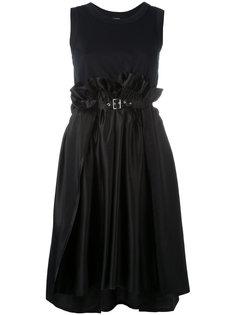 платье с пряжкой на талии Comme Des Garçons Noir Kei Ninomiya