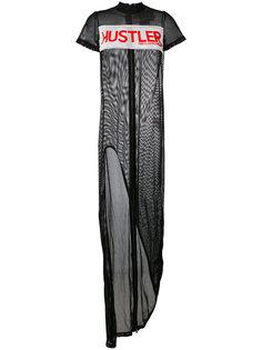 сетчатое платье Hustler Power Hood By Air