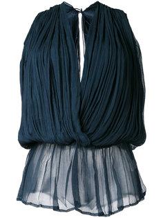 wrap blouse Mes Demoiselles