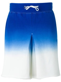 шорты с градиентным эффектом Ganryu Comme Des Garcons