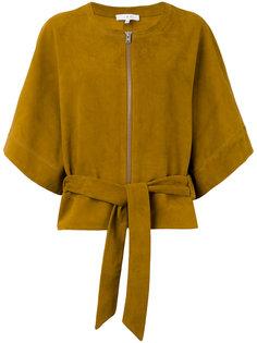 кожаная куртка-кимоно  Iro