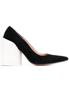 туфли с контрастным каблуком Jacquemus