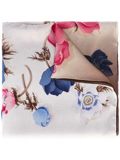 шарф с цветочным принтом Salvatore Ferragamo