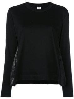 толстовка с плиссированными вставками Comme Des Garçons Noir Kei Ninomiya
