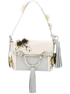 декорированная сумка на плечо  Borbonese