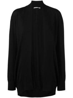 shawl lapel open cardigan Agnona