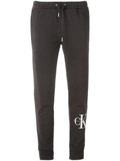 спортивные брюки со шнурком и логотипом  Calvin Klein Jeans