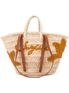 летняя  сумка-тоут See By Chloé