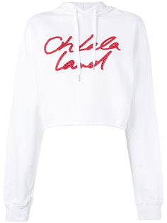 cropped drawstring hoodie Each X Other