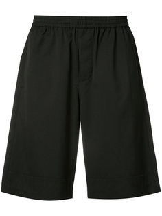 elasticated waistband track shorts Stampd