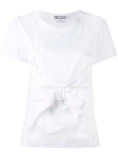 футболка с бантом Comme Des Garçons Comme Des Garçons